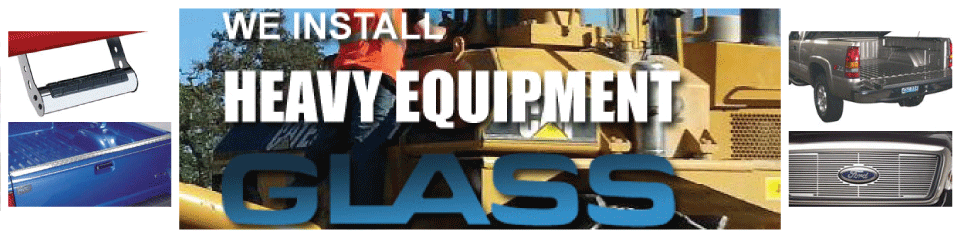heavy equipment glass services